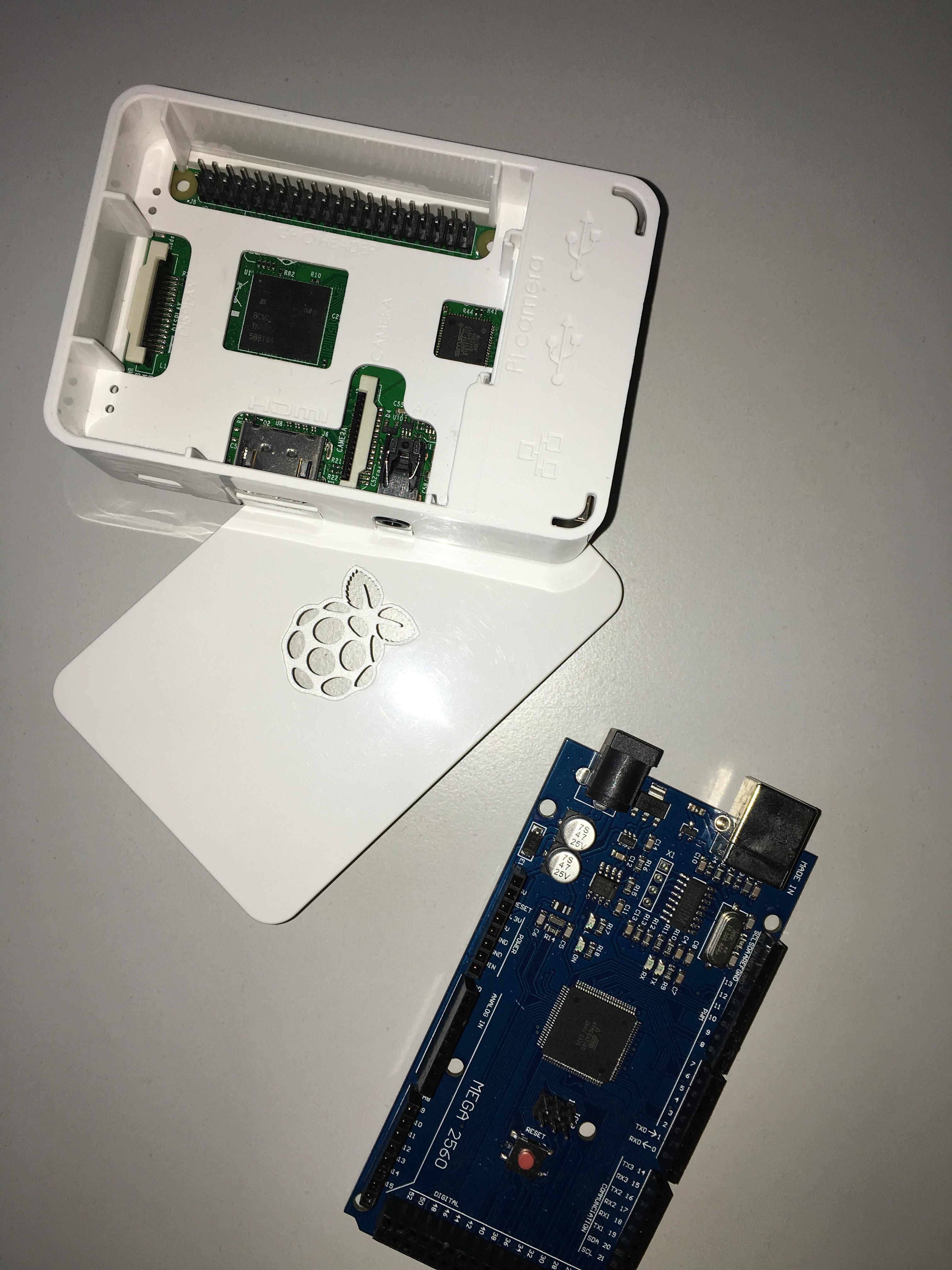 Raspberry Arduino