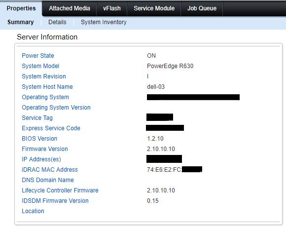 Versioni BIOE e firmware prima dell'aggiornamento